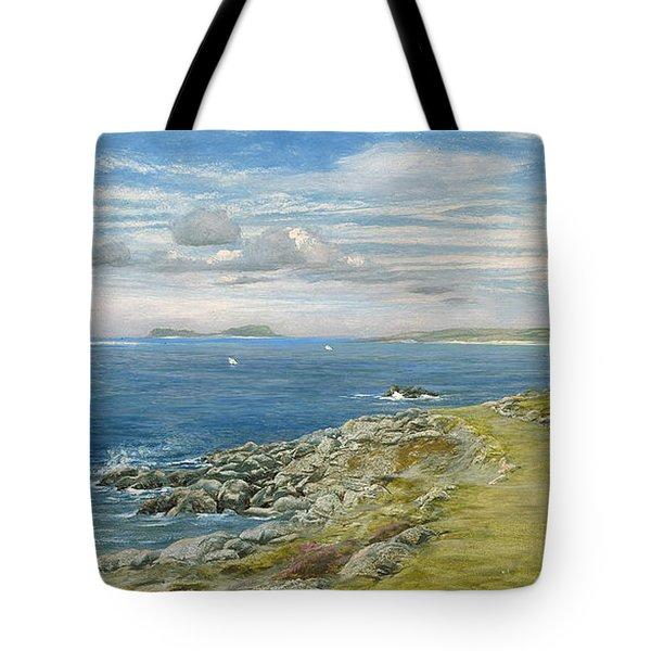 Garrison Walk Tote Bag by John Brett