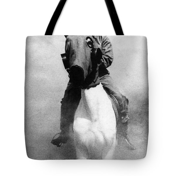 Gas Masks Tote Bag by Science Source