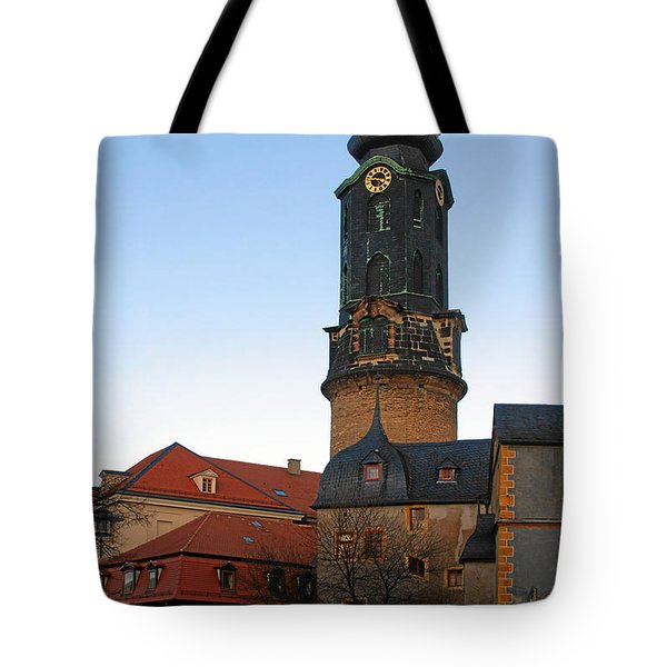 Gatehouse Weimar City Palace Tote Bag by Christine Till