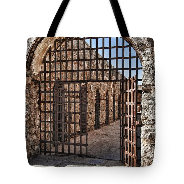 Gateway To The Unknown Tote Bag by Sandra Bronstein