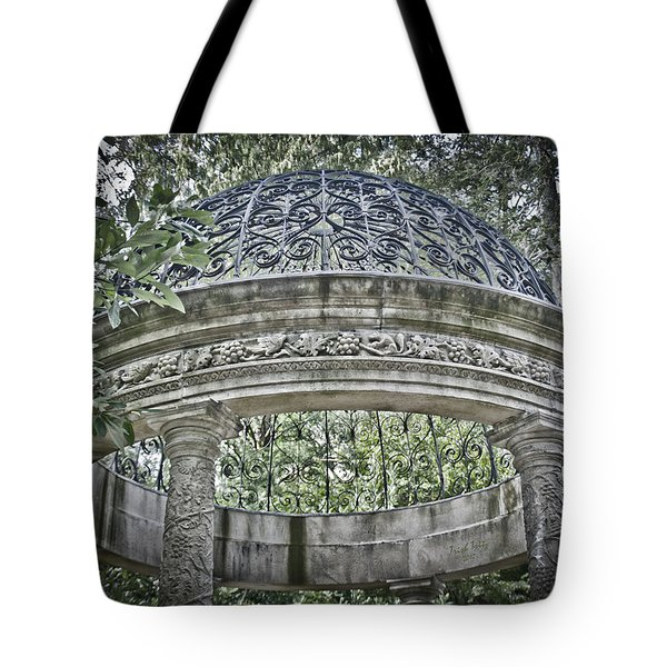 Gazebo At Longwood Gardens Tote Bag