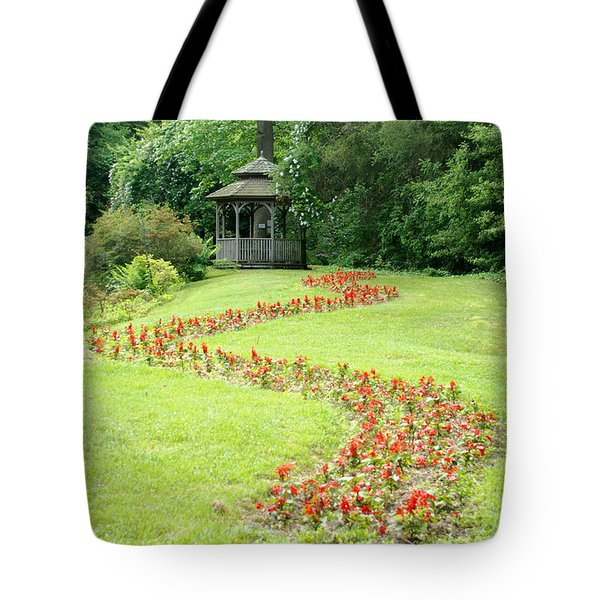Gazebo Tote Bag by Richard Bryce and Family