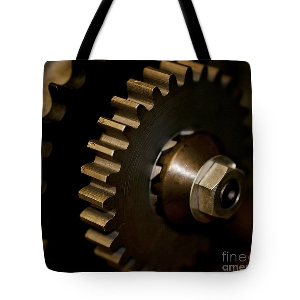 Gears  Tote Bag by Wilma  Birdwell