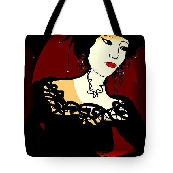 Geisha 1 Tote Bag by Natalie Holland