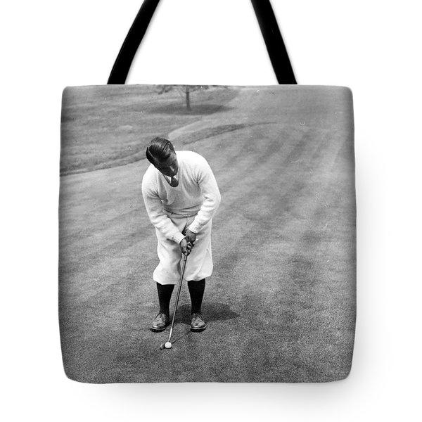 Gene Sarazen Playing Golf Tote Bag
