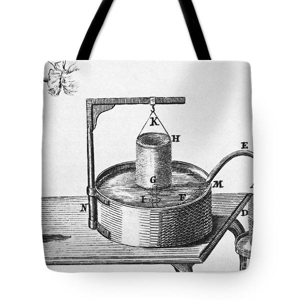 Generation Of Carbon Dioxide Tote Bag by Photo Researchers