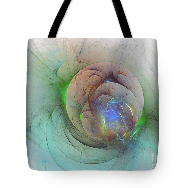 Gentle Trance Tote Bag