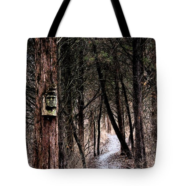 Gently Into The Forest My Friend Tote Bag