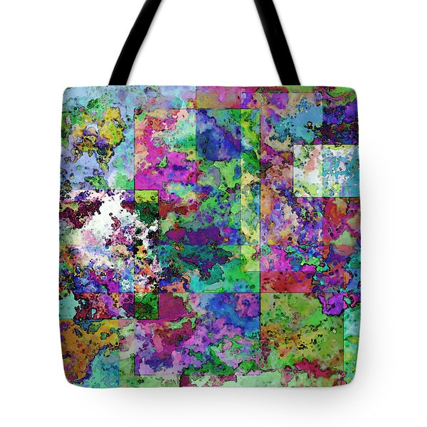Geometrix  Tote Bag by Debbie Portwood