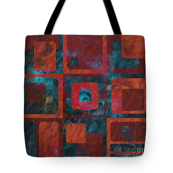 Geomix 02 - Sp07c03b Tote Bag by Variance Collections
