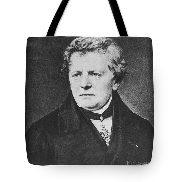 Georg Ohm, German Physicist Tote Bag by Science Source