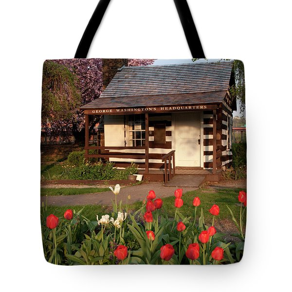 George Washington's House Tote Bag by Jeannette Hunt