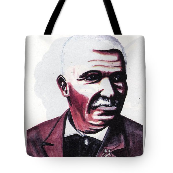 Georges Washington Carver Tote Bag by Emmanuel Baliyanga