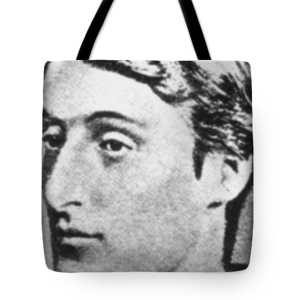 Gerard Manley Hopkins Tote Bag by Science Source