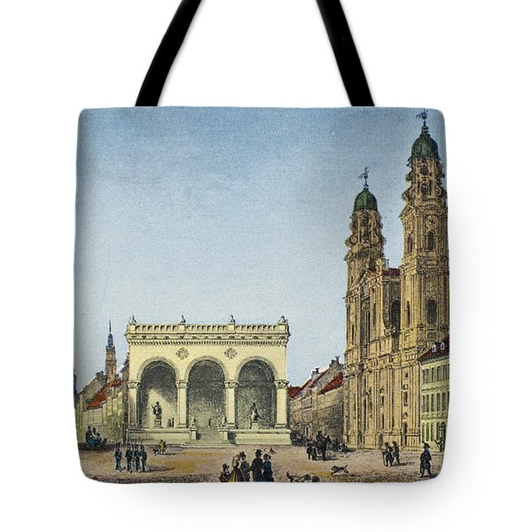 Germany: Munich, C1845 Tote Bag by Granger