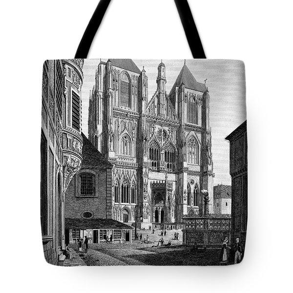 Germany: Regensburg, 1823 Tote Bag by Granger