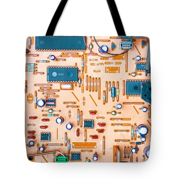 Get Connected Tote Bag by Semmick Photo