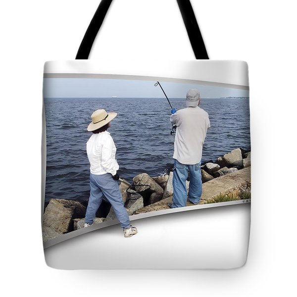 Get The Net Tote Bag by Brian Wallace