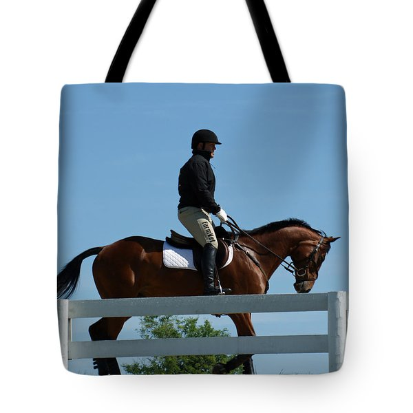 Getting Ready Tote Bag by Roger Potts