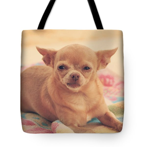 Getting Sleepy Tote Bag by Laurie Search