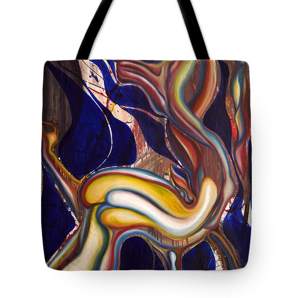 Ghost Horse And Still Born Tote Bag by Sheridan Furrer