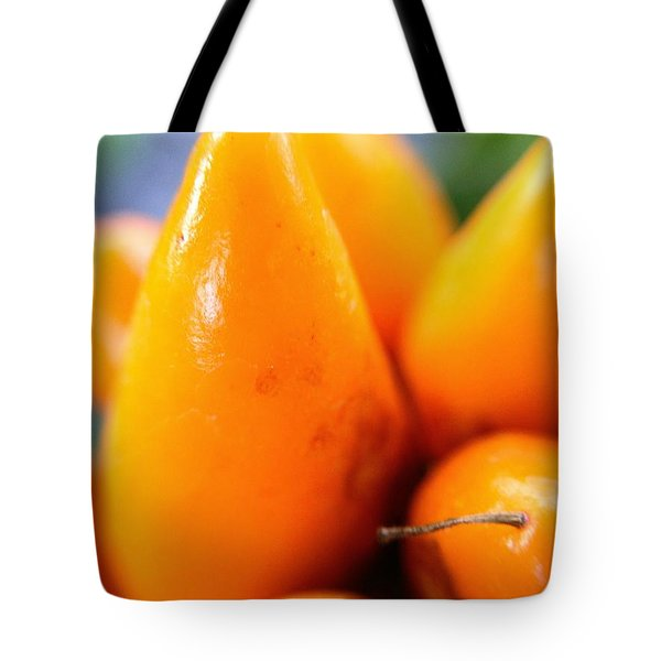 Ghost In The Pepper Tote Bag