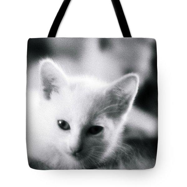 Ghost Kitties Tote Bag