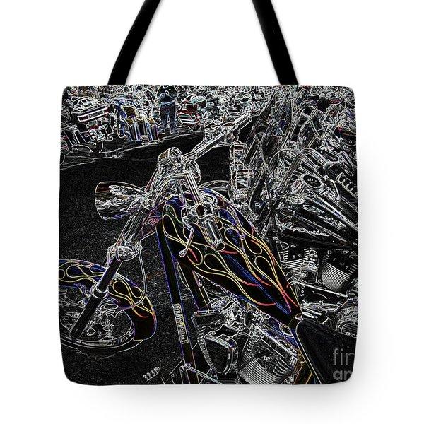 Ghost Rider 2 Tote Bag