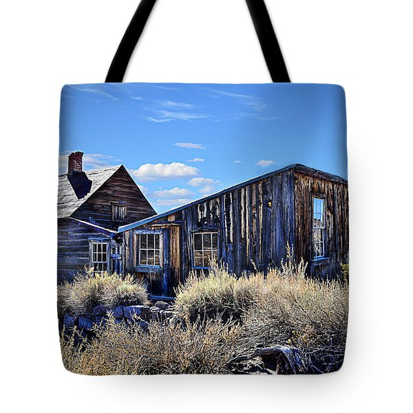 Ghost Town House Tote Bag