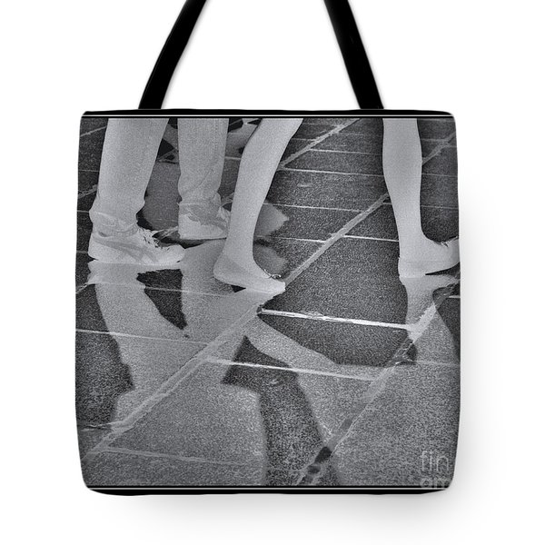 Tote Bag featuring the digital art Ghost Walkers by Victoria Harrington