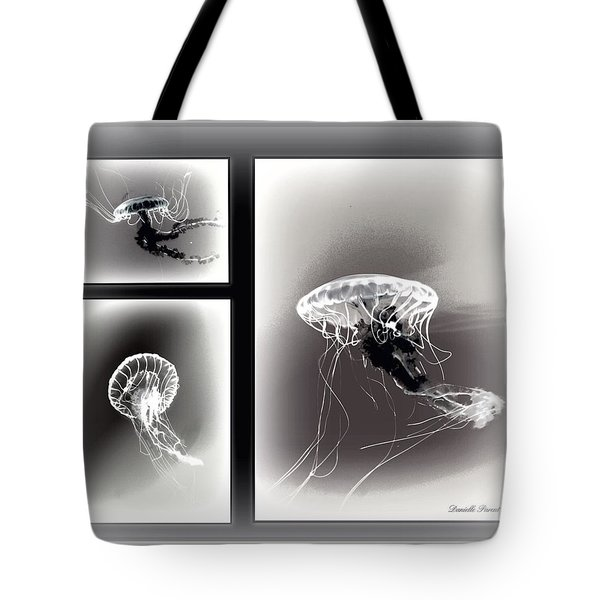 Ghostly Encounter Tote Bag