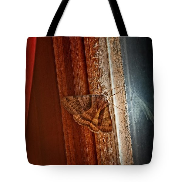Ghostly Visage Tote Bag by Susan Capuano