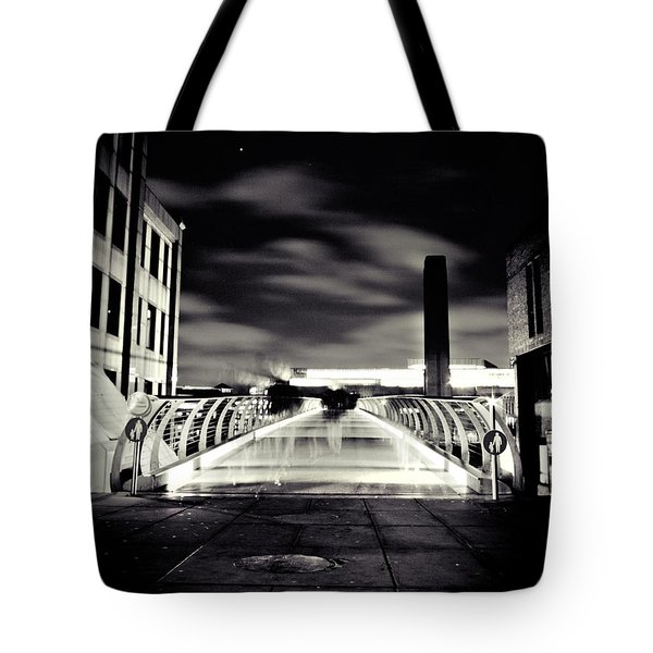 Ghosts In The City Tote Bag