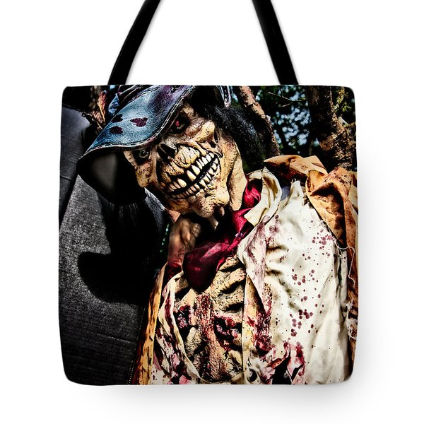 Ghoulie Tote Bag by Christopher Holmes
