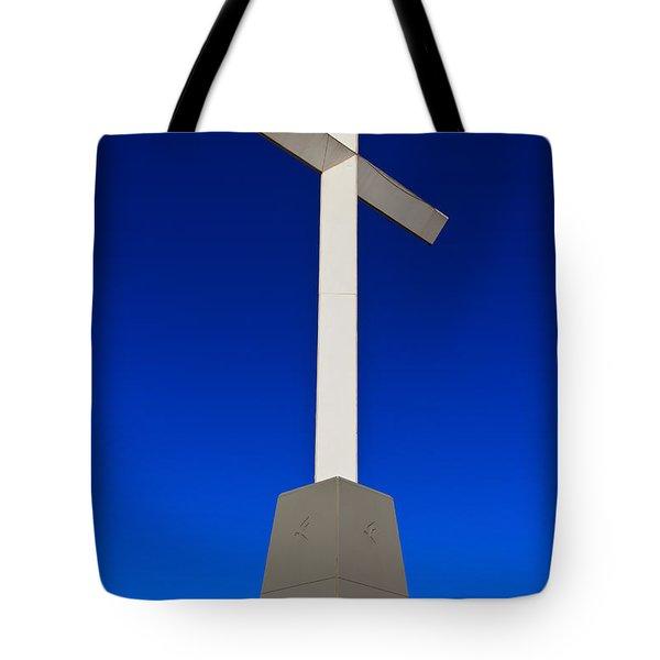Giant Cross Tote Bag by Doug Long