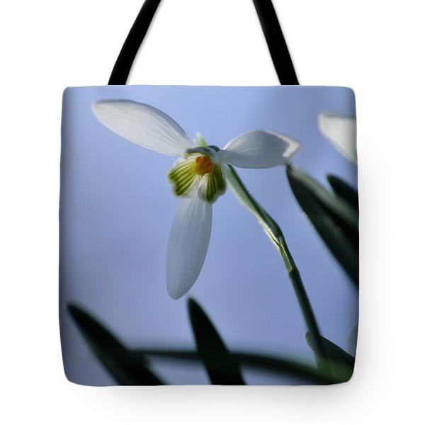 Giant Snowdrop Tote Bag