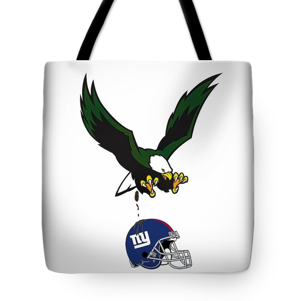 Giants Suck Tote Bag by Bill Cannon