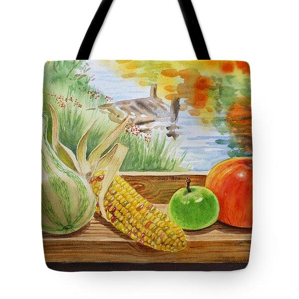 Gifts From Fall Tote Bag by Irina Sztukowski