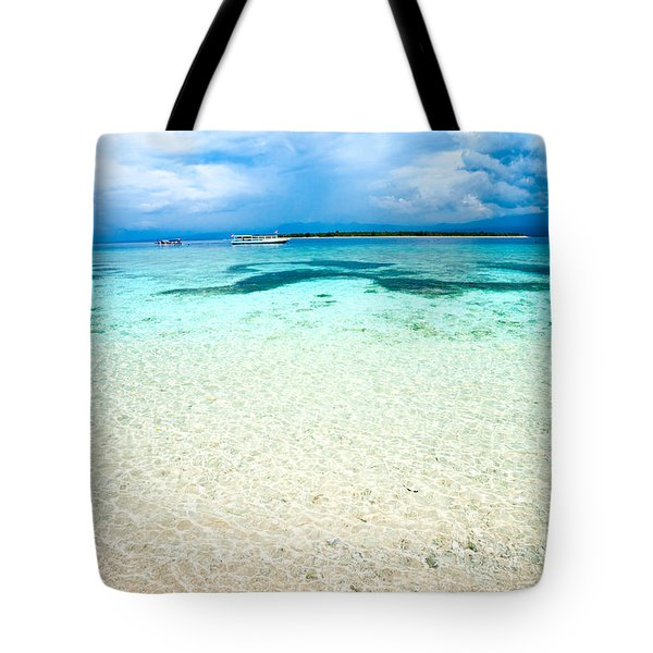 Tote Bag featuring the photograph Gili Meno - Indonesia. by Luciano Mortula
