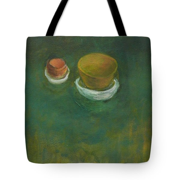 Tote Bag featuring the painting Ginger Pot by Kathleen Grace