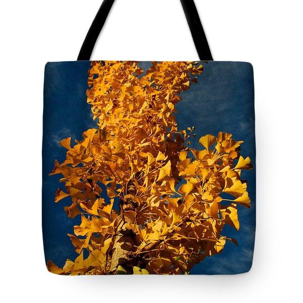 Gingko To The Sky Tote Bag
