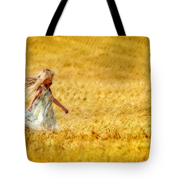 Girl With The Golden Locks Tote Bag