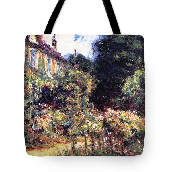 Giverny Tote Bag by Claude Monet