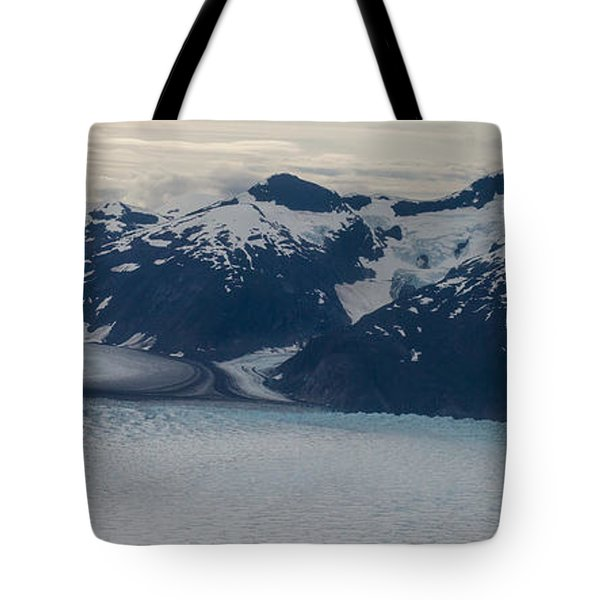 Glacial Panorama Tote Bag by Mike Reid