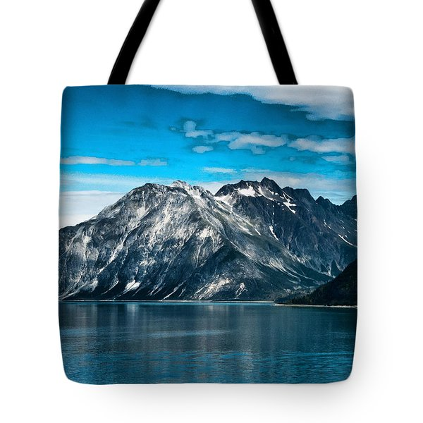 Glacier Bay Alaska Tote Bag by Jon Berghoff