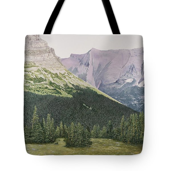 Glacier National Park Montana Tote Bag