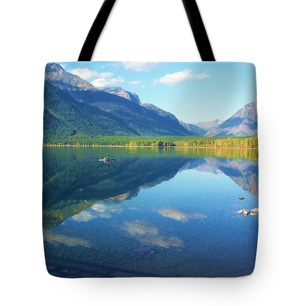 Glacier Park Magic Tote Bag