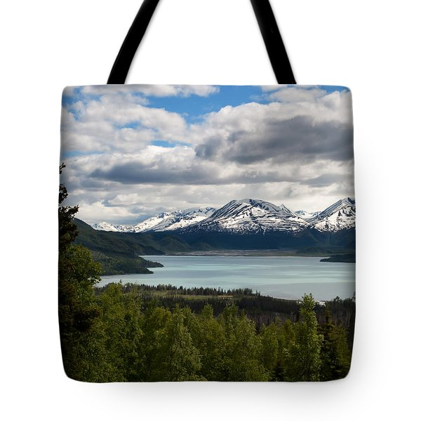 Glacier Water Tote Bag