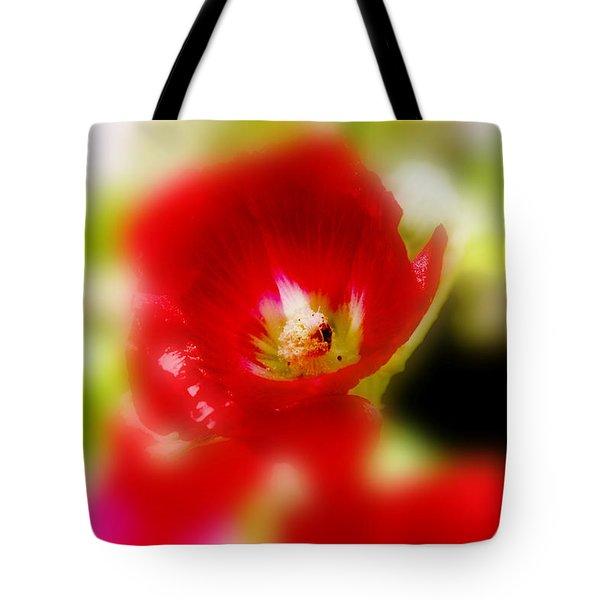 Gladiolus Tote Bag by Toni Hopper