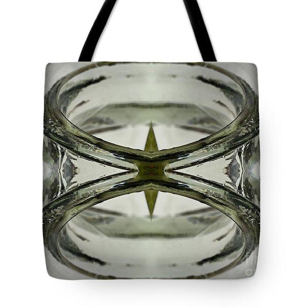 Glas Art Tote Bag by Heiko Koehrer-Wagner
